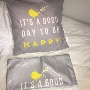 Encouraging quote pillowcase!